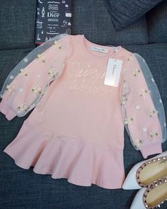 New Ideas Sewing Baby Girl Clothes Projects Toddler Girl Outfits, Little Dresses, Little Girl Dresses, Sewing Baby Clothes, Cute Baby Clothes, Tennis Clothes, Kids Fashion Blog, Girl Fashion, Fashion Sewing