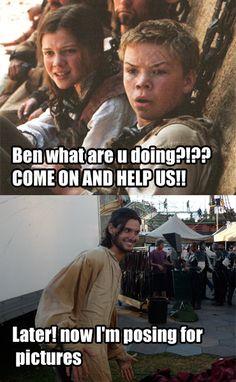 Ben Barnes you silly man