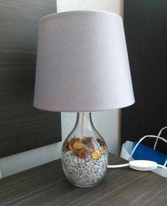 My handmade diy bran lamp ikea