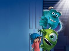 Mike, Sulley and Boo