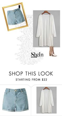 """shein contest"" by zojla ❤ liked on Polyvore featuring Miss Selfridge and Sigerson Morrison"