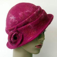 felt hat by Bridget O'Connell