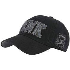 97708c64c94 Raon B53 New PINK Emblem Women Sexy Twinkle Club Lady Ball Cap Baseball Hat  Truckers (
