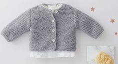 Crochet baby cardigan tricot 37 Ideas for 2019 Baby Knitting Patterns, Knitting Ideas, Crochet Baby Cardigan, Crochet Baby Clothes, Crochet For Boys, Knitting For Kids, Boy Crochet, Tricot Baby, Girls Cape