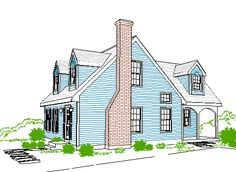 1000 images about cape cod expansion ideas on pinterest for Cape cod style home addition plans