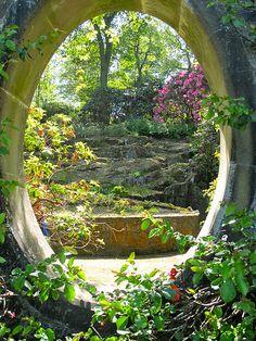 Mount Congreve Gardens, Waterford, Ireland by Bev Staunton, via Flickr