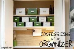 #ORGANIZATION TIPS from a pro
