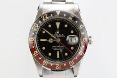 1960 Rolex GMT-Master Bakelite Bezel Ref 6542 Watch For Sale ...