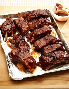 5 Awesome Rib Recipes, including these delicious Orange-Garlic Slow Cooker Ribs (YUM!)