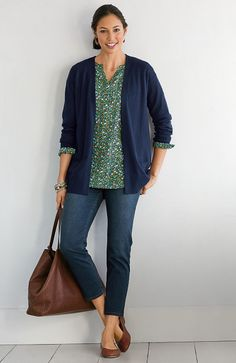 > Tried & True cropped jeans at J.Jill