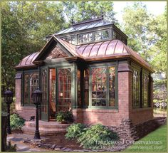 Brick and Stone Conservatory