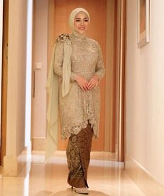 Like, Comments - Rachel Vennya Al-Hakim (rachelvennya) at Instagra . Hijab Prom Dress, Muslimah Wedding Dress, Hijab Style Dress, Hijab Wedding Dresses, Bridesmaid Dress, Kebaya Modern Hijab, Kebaya Hijab, Kebaya Muslim, Model Rok Kebaya