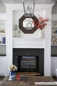 Living Room Summer Decor - The Sunny Side Up Blog