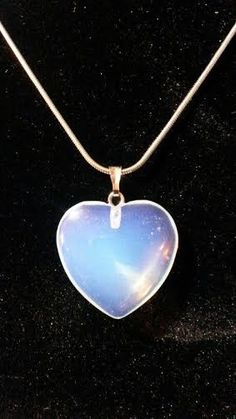 Opal heart necklace  R60.00