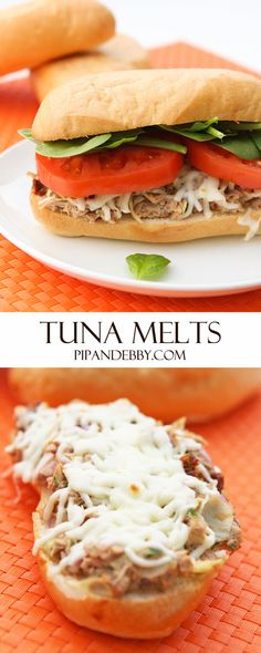 from pip and ebby tuna melts tuna melts the perfect melty cheesy ...