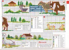 1000 Artes: Graficos Ponto Cruz