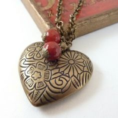 Valentine Vintage Necklace by jenifer