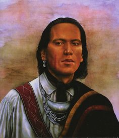Chief Tecumseh, Shawnee - courageous in the face of extreme adversity, a man of utmost integrity, selflessness, loyalty and true leadership. He was born to be a force to be reckoned with and staked himself to the land until the end.