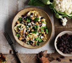 Our New Head Chef Kim & Her Spiced Cauliflower Salad with Chickpeas & Quinoa