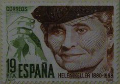 Sellos - Helen Keller