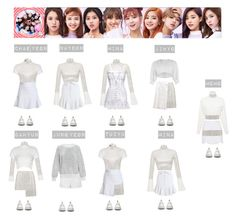 """""""TWICE - TT💜💚💛💙♡"""" by mabel-2310 on Polyvore featuring David Koma, Zimmermann, Glamorous, Topshop, Dr. Martens, Ashish, Emilia Wickstead and Dolce&Gabbana"""