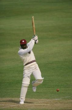 Sir Viv Richards.  Such a classy cricketer