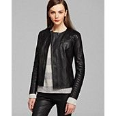 Vince Jacket - Quilted Leather Moto