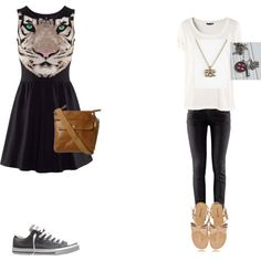"""""""outfit for school party"""" by lenasstylethoughts on Polyvore"""