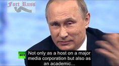 Putin crushes CNN smartass Fareed Zakaria on Donald Trump and US elections - Not a fan of his at all but man he really hit the nail on the head with some of his statements!