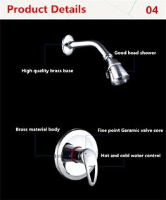 Free shipping singe lever shower set,brass chrome water tap faucet shower,in wall shower head set,bath taps,rain shower mixer