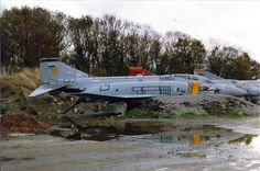 The scrapping area at RAF Wattisham became a Phantom graveyard in 1992 when the UK's remaining F-4 Phantom fleet was retired and scrapped
