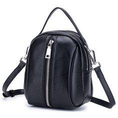 214e5363fc7d 46% СКИДКА CICICUFF 2019 новые женские сумки через плечо из натуральной  воловьей кожи маленькие сумки через плечо для женщин мини сумка ведро  красная купить ...