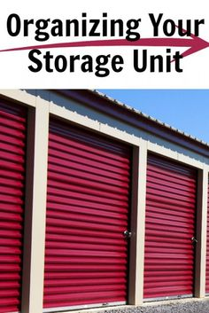 While most of us try to use our existing space in our home to organize our belonging, a few of us have outside storage units, shops or even paid monthly storage. Organizing Your Storage Unit will make things easier to [. Moving Storage Containers, Lego Storage Boxes, Storage Container Homes, Moving And Storage, Outside Storage Units, Self Storage Units, Small Storage, Storage Hacks, Storage Organization