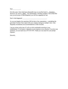 Airline Lost Luggage Complaint Letter Letters Free Sample Example