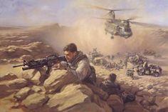 SAS re supply Afghanistan