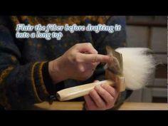 Alpakka spinnevideo - YouTube