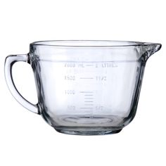 Anchor Hocking 81605E 2 Quart Glass Measuring Cup