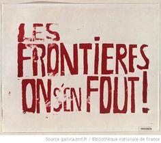 Les frontières on s'en fout, 1968