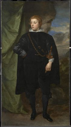 1634-1635 Anthonis van Dyck - Carlo Emanuele d'Este, Marchese di Borgomanero