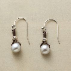 PEARLS OF WISDOM EARRINGS - Designed exclusively by Peyote Bird Designs for Sundance Catalog.