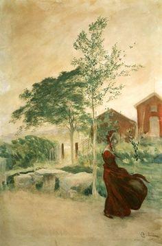 Carl Larsson - Stina, 1895