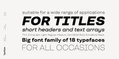 TT Travels - Webfont & Desktop font « MyFonts