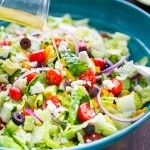 Greek Salad with Zesty Lemon Dressing