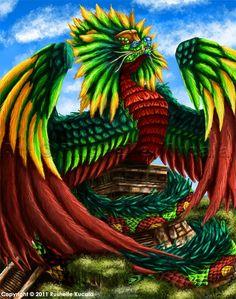 Quetzalcoatl by TheDragonofDoom.deviantart.com on @deviantART