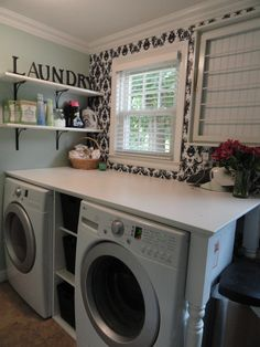 our new laundry room :)  #laundryroom