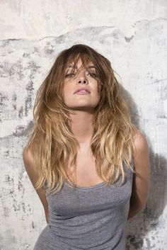 sunkissed ombre look for long hair Fringe Hairstyles, Down Hairstyles, Trendy Hairstyles, Mod's Hair, New Hair, Girl Hair, Hair Styles 2016, Short Hair Styles, Long Hair Cuts