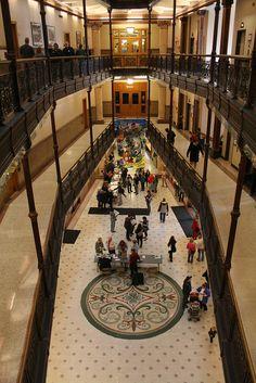 Milwaukee City Hall Interior, WI, US