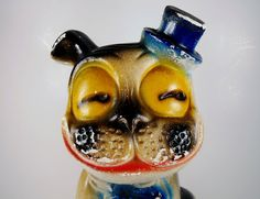 Adorable Vintage Chalkware Carnival Prize BONZO by thejunkdynasty, $71.00