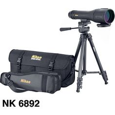 Nikon Outfit XL II Spotting Scope Kit - Choose Color