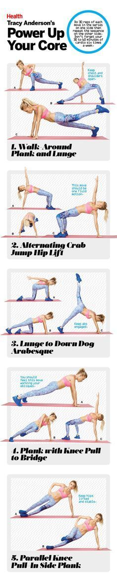 These Are Tracy Anderson's All-Time Best Ab-Sculpting Moves | Strengthen your core and get rid of excess visceral fat in your belly with these ab-sculpting exercises from Tracy Anderson.